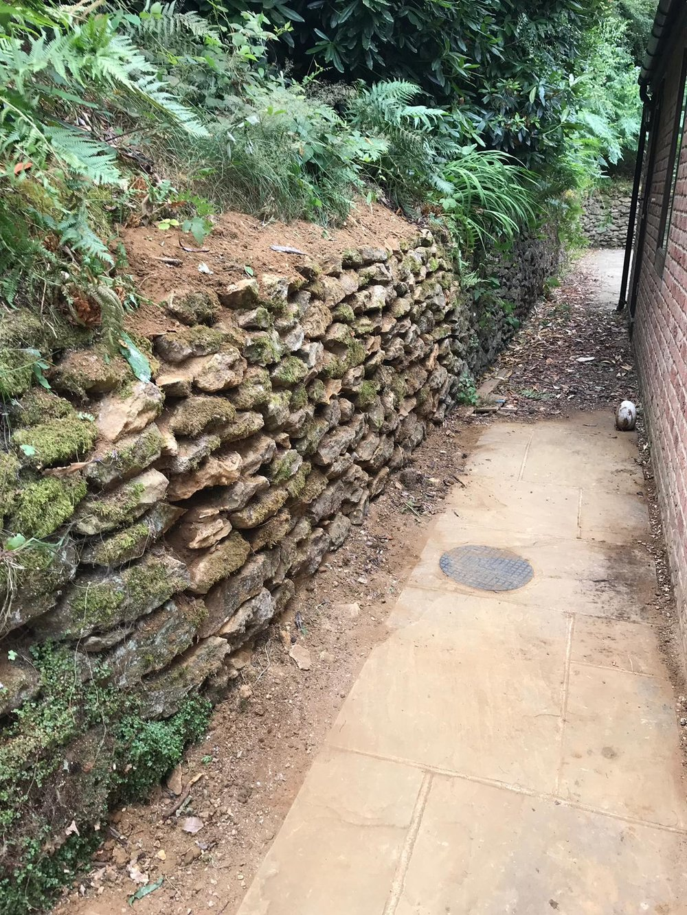 Stone Replacements and Restoration Project 5 - After