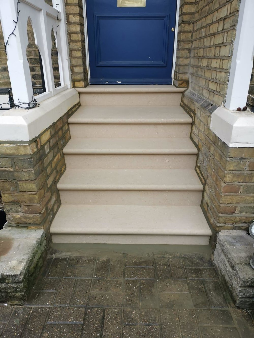 Stone Replacements and Restoration Project 6 - After