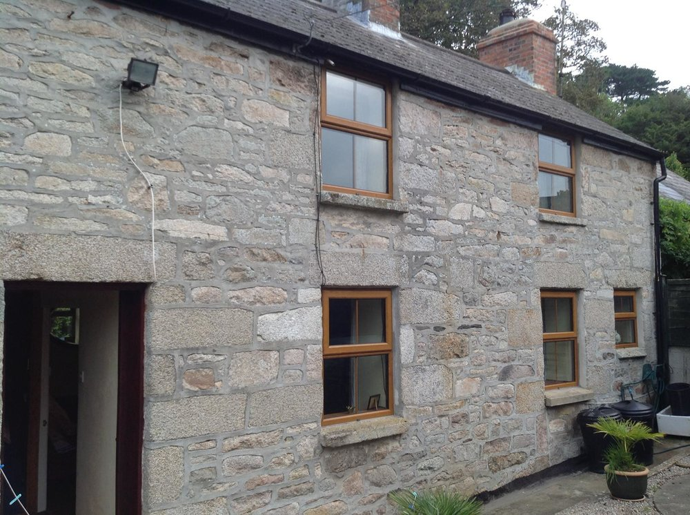 Stone Replacements and Restoration Project 8 - Before