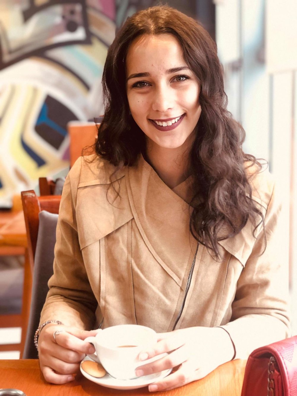 MAY SLIMAN - May is a 22-year-old French language major, with a minor in Political Science and a diploma in Education from the University of Birzeit. After receiving a scholarship to study in France, she returned to Palestine and joined Zimam. At the same time, she was working 3 jobs in order to support herself and her siblings. Through hard work and perseverance, she has become the Student President of her faculty at Birzeit, which she describes as her biggest achievement so far.