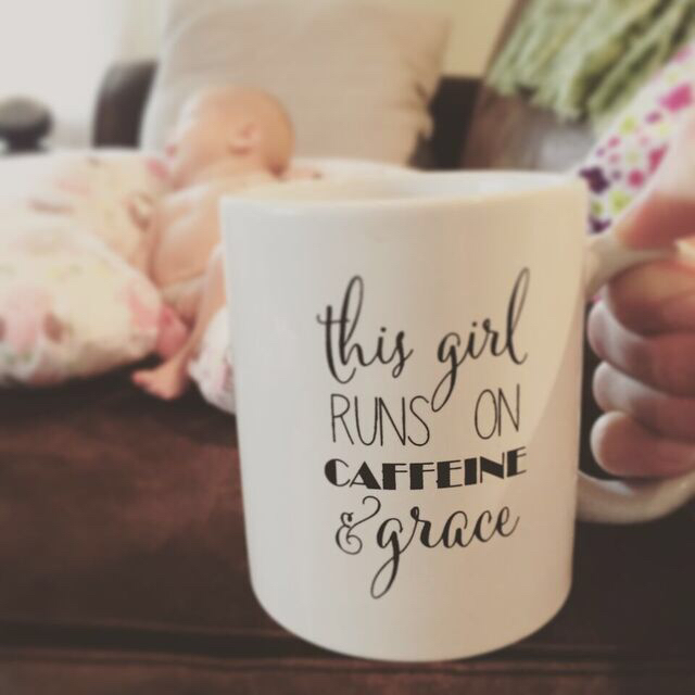 This girl runs on caffeine and grace...