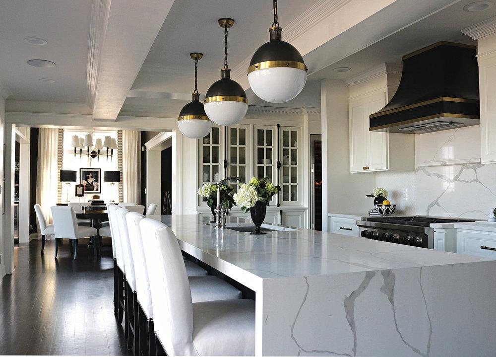 Kelle Dame Interiors Black and Brass Hood Kitchen Design Josh Young.JPG