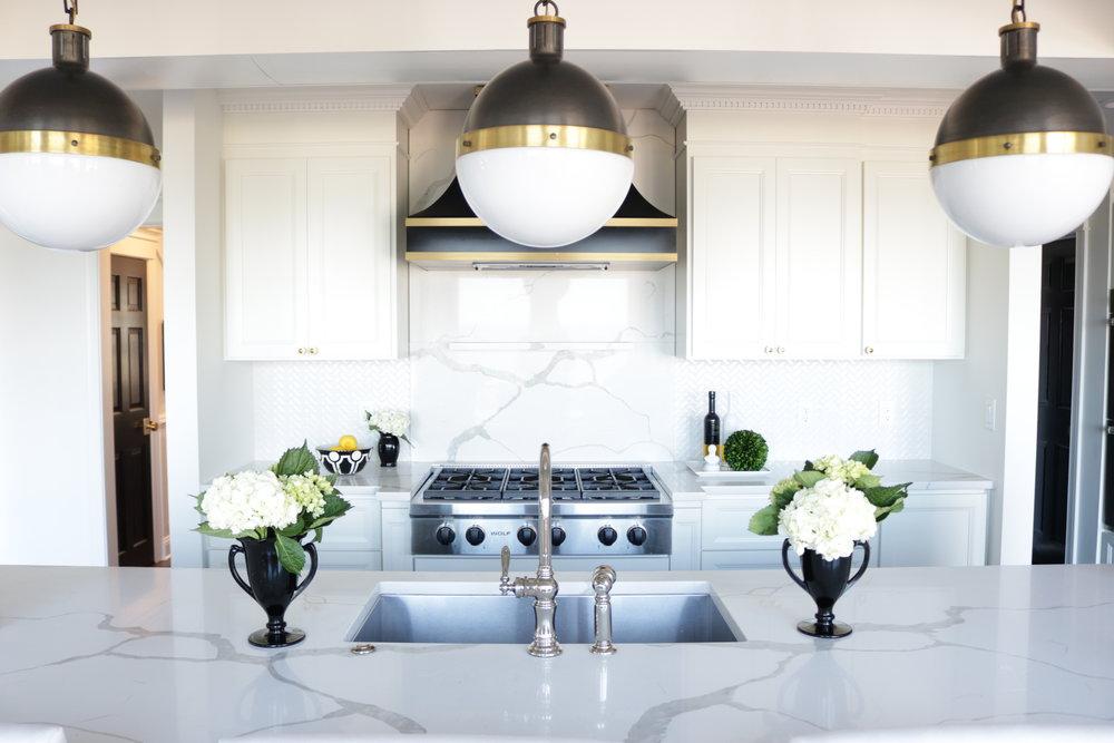 Kelle Dame Interiors Black and White kitchen wolf appliances.JPG