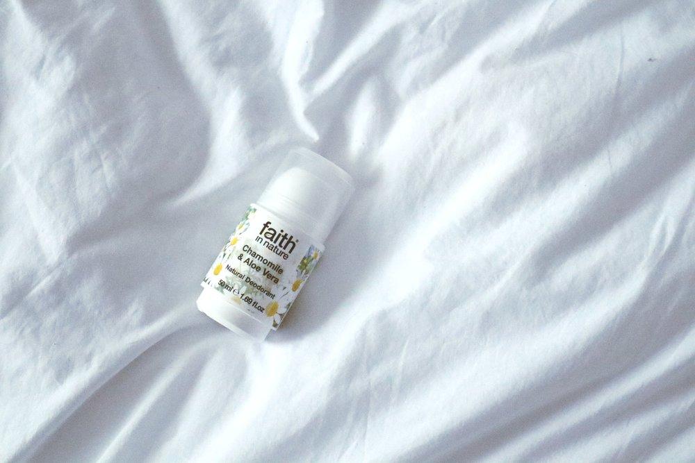 Natural deodorants -