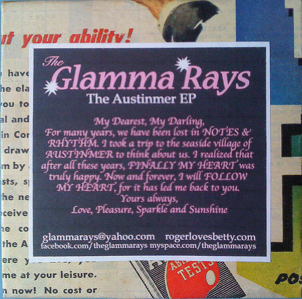 The Glamma Ray - Austinmer EP