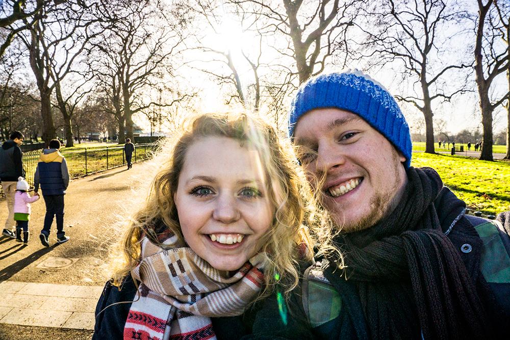 London---desember