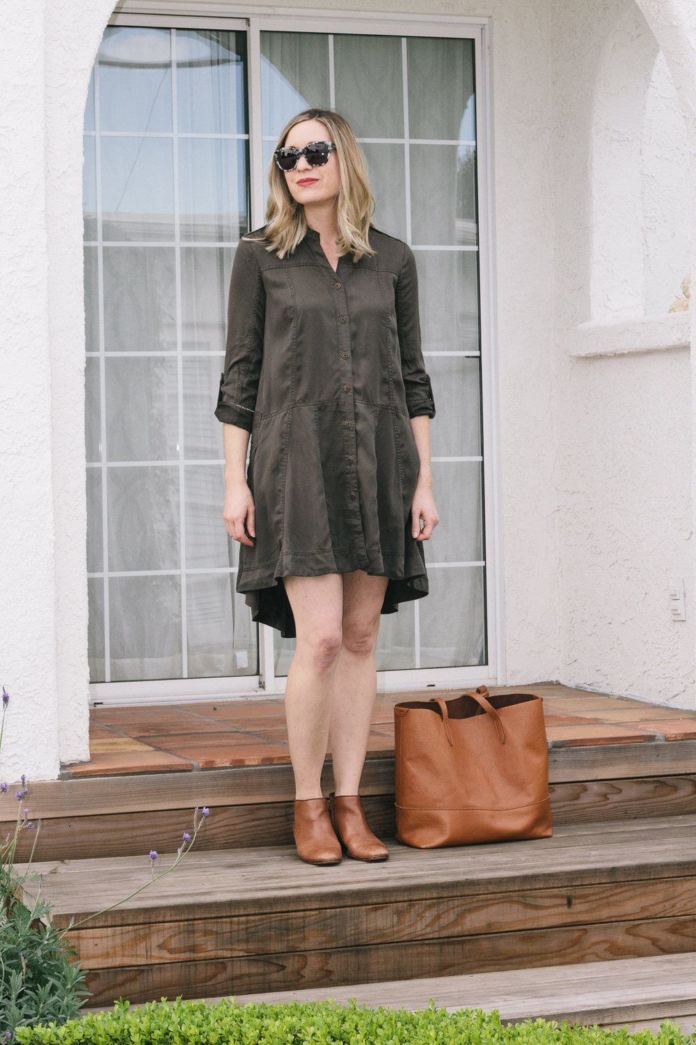 pantone-color-of-the-year, shirtdress