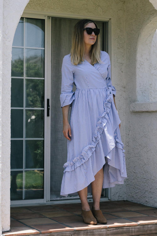 ruffle-dress