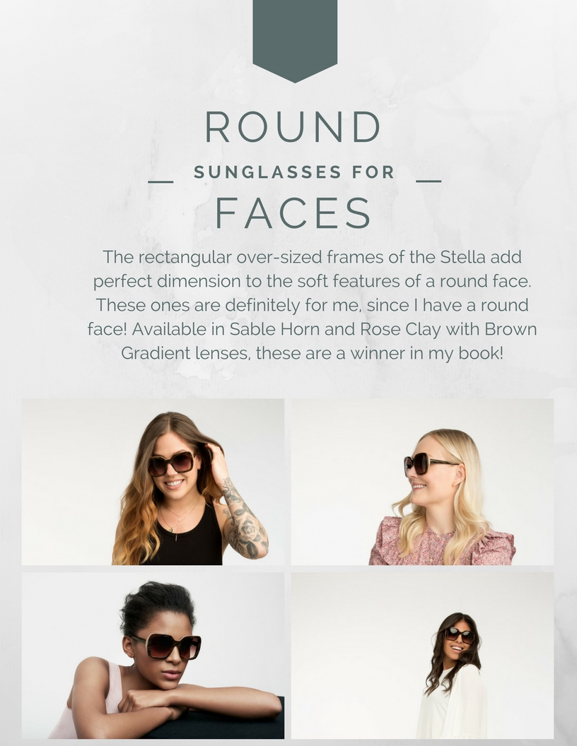 sunglasses for round-shaped faces