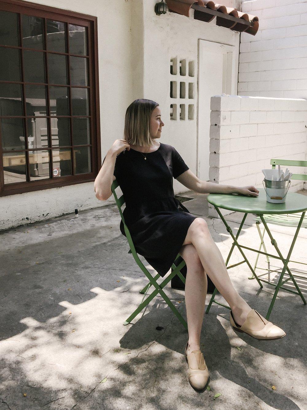 Linen Dress  (I am wearing a medium) //  shoes  //  necklace