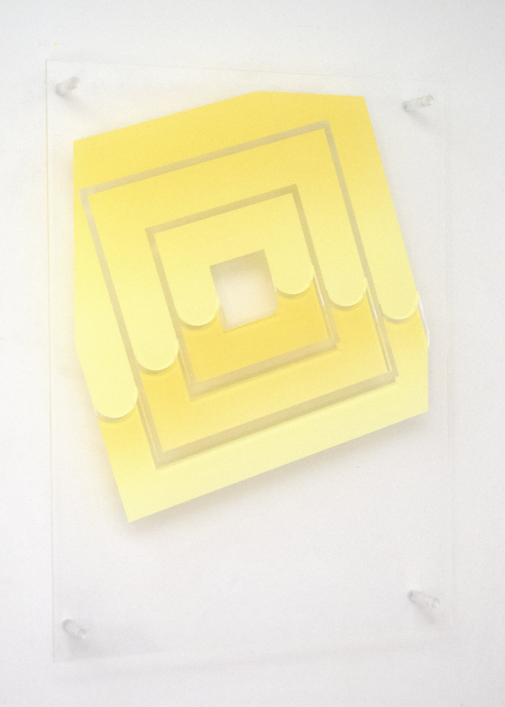 (untitled -  three squares with removed parts)