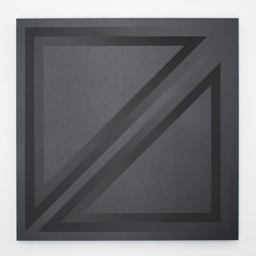(untitled - four triangles, matte/gloss)