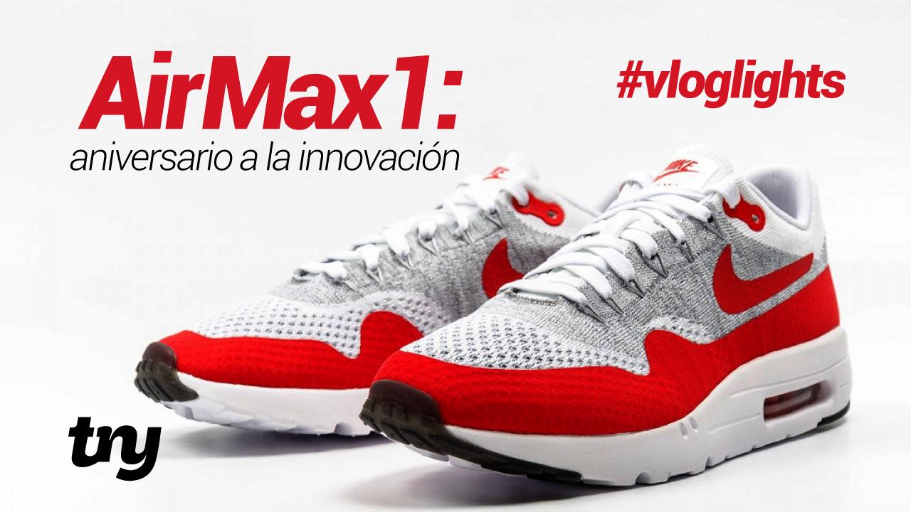 Nike Airmax, historia y origen de zapatillas con cámara de