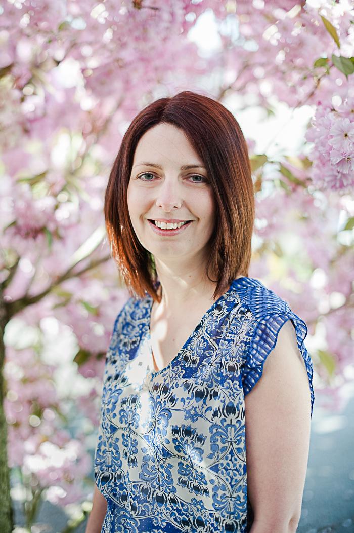 hitchin blossom portrait session-1