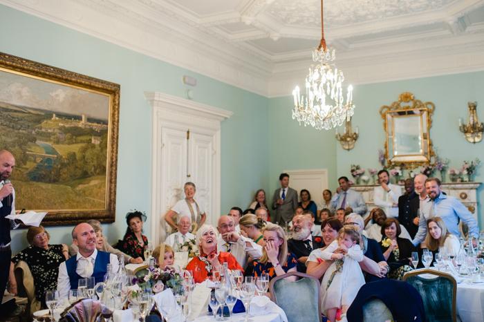 Dartmouth House wedding breakfast-1