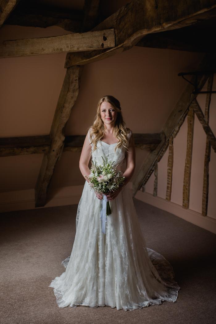 Charlie Brear two layer wedding dress-1
