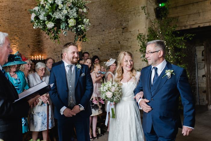 romantic wedding Cripps Stone Barn-1-2