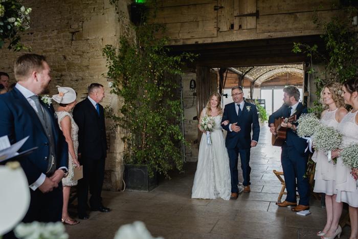 romantic wedding Cripps Stone Barn-1