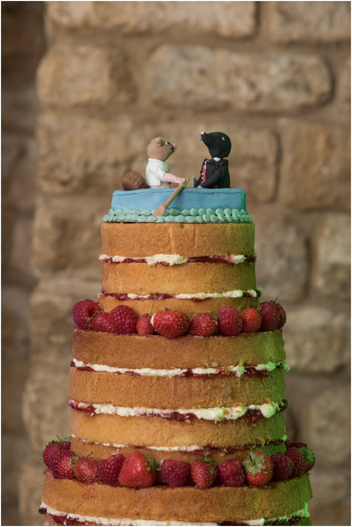 Wind in the Willows wedding cake_0032