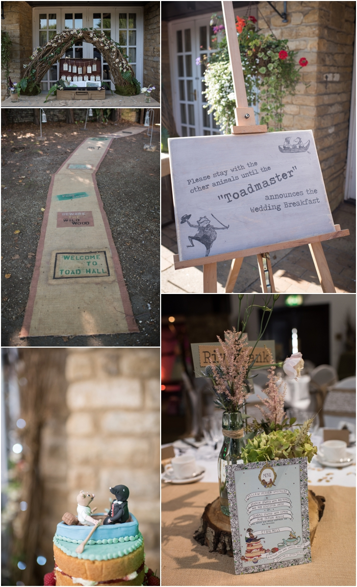 Wind in the Willows wedding decorations_0027