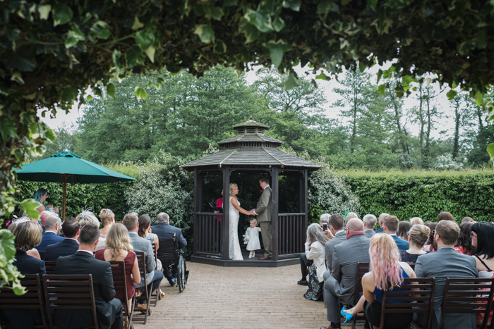 Outdoor Wedding at the Stable at Tewinbury Farm