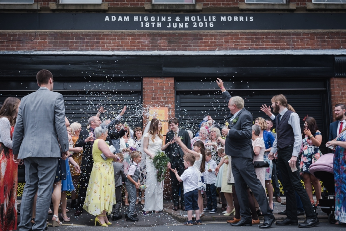 Indie Wedding Duke Studios Leeds