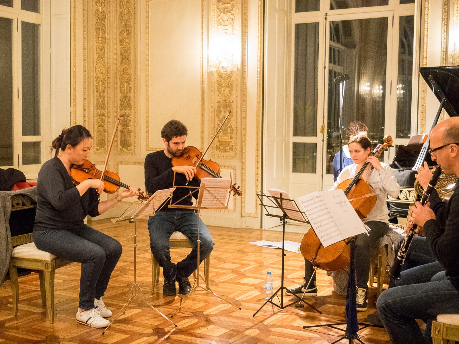 Probe Dohnányi Sextett C-Dur op.37