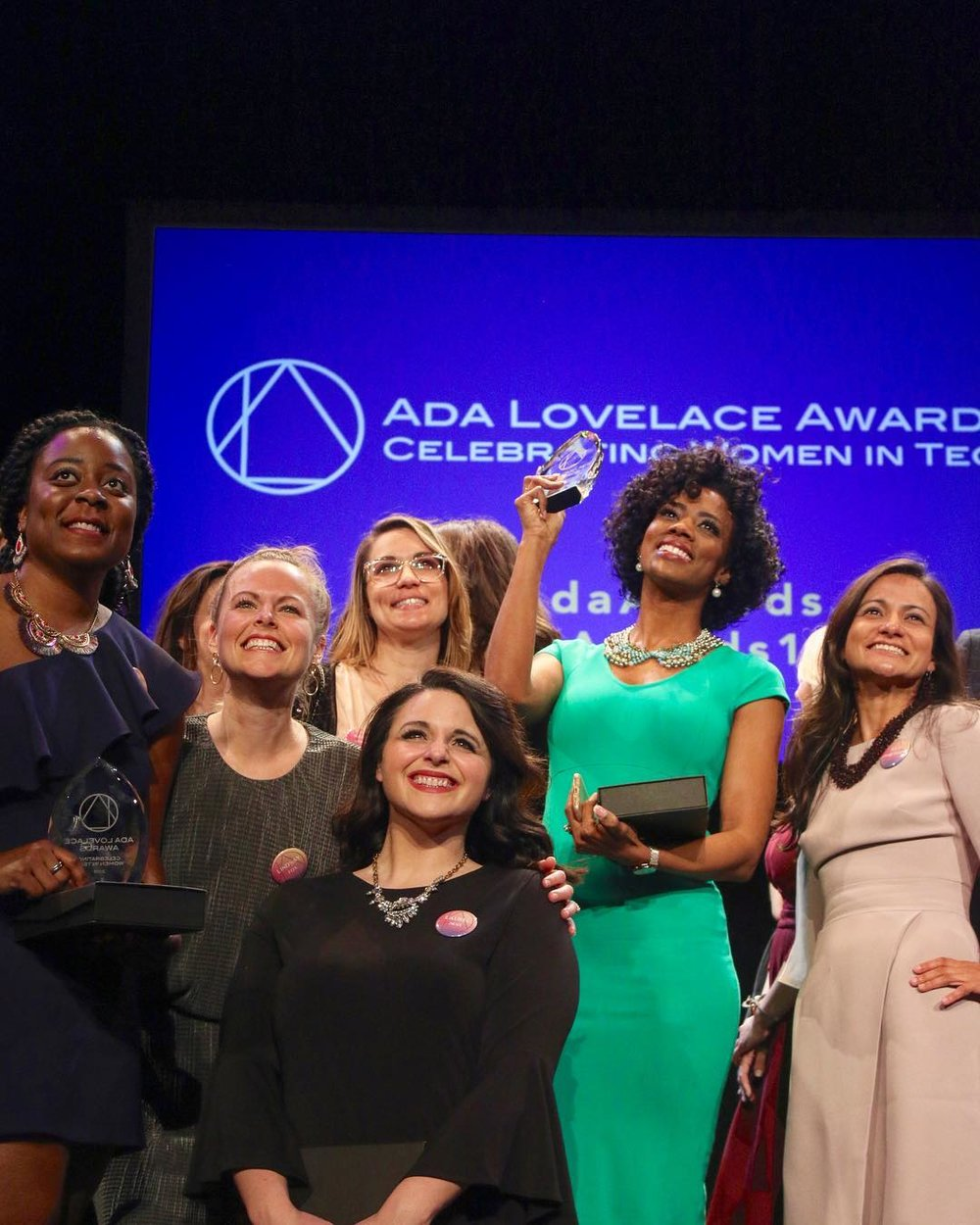 Meet the winners! - The 2019 Ada Lovelace Award winners are Nashlie Sephus, PhD, Julie Cwikla PhD, Laurel Hess, Lynsey Jordan Gwin, Rebekah E. Wilke, and Courtney Caldwell.