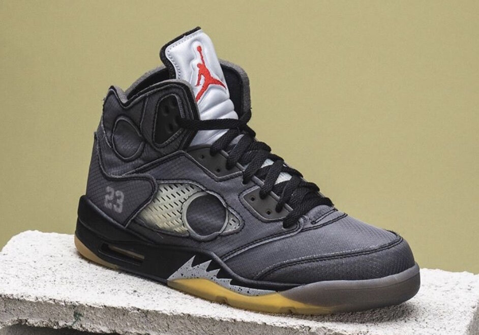 air jordan 5 x off white 2020