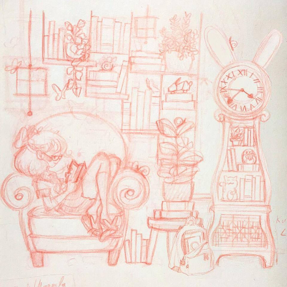 Reading Time Sketch