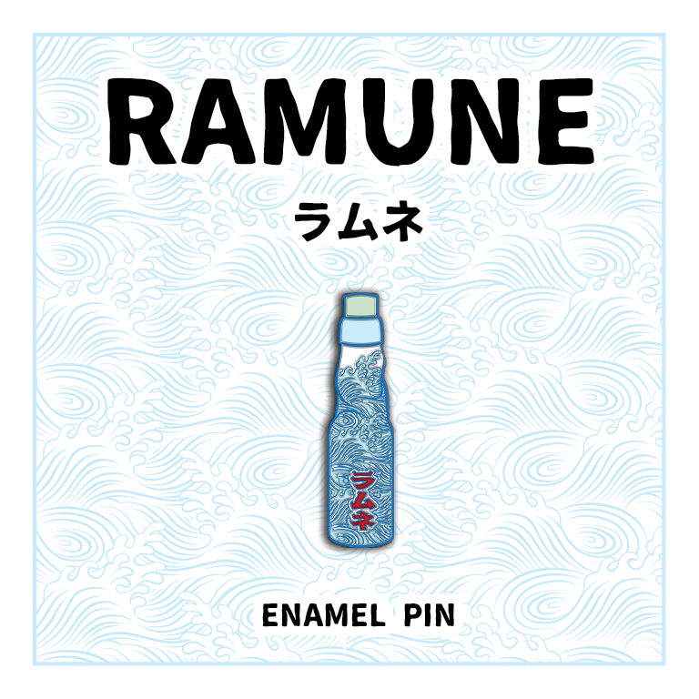 Japanese Snack Pins