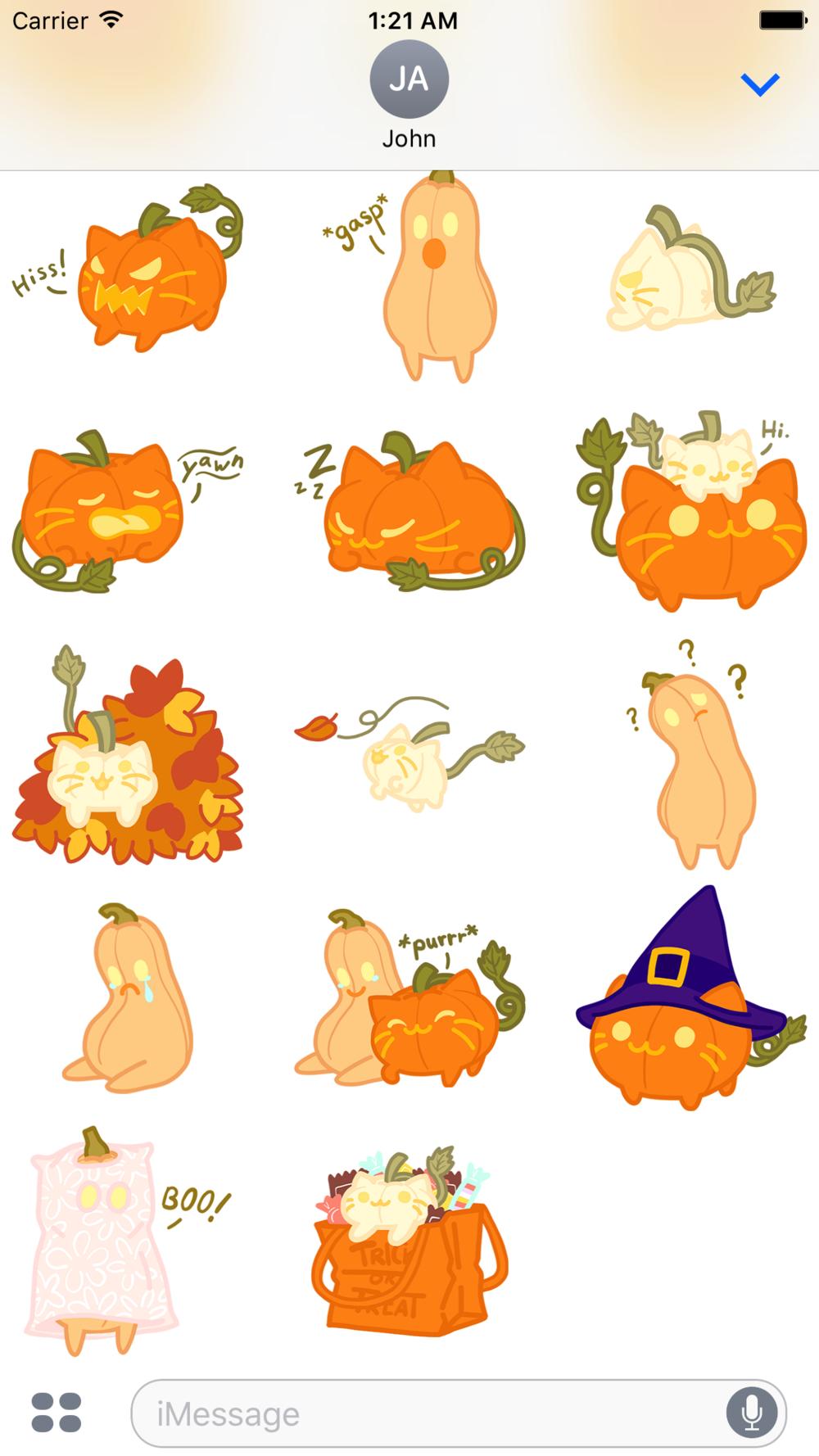 Pumpkin Cat Page 2