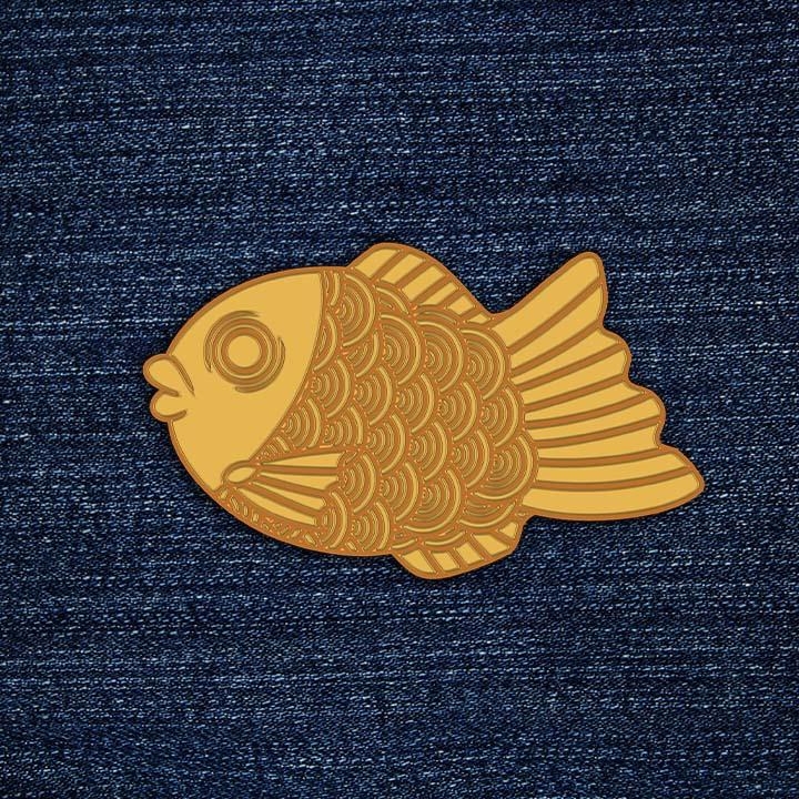 Taiyaki Pin Mockup