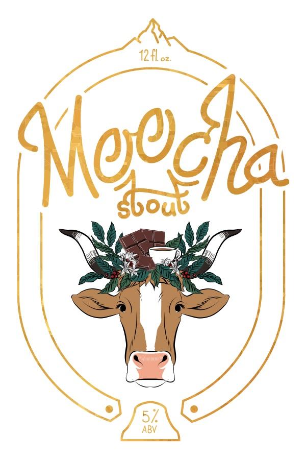 Moocha Stout Label