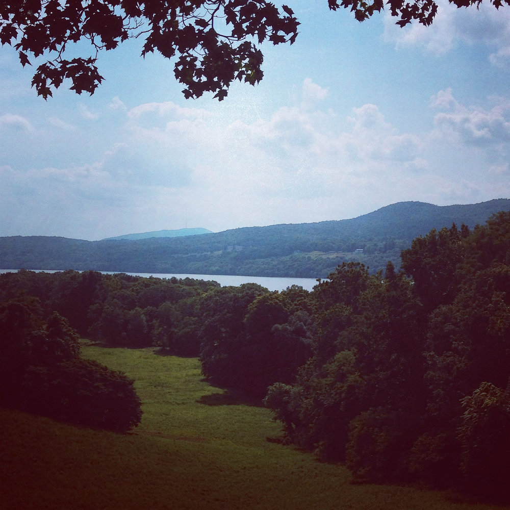 © Anna Van Lenten, View of the Hudson River from Vanderbilt Mansion National Historic Site in Hyde Park, NY