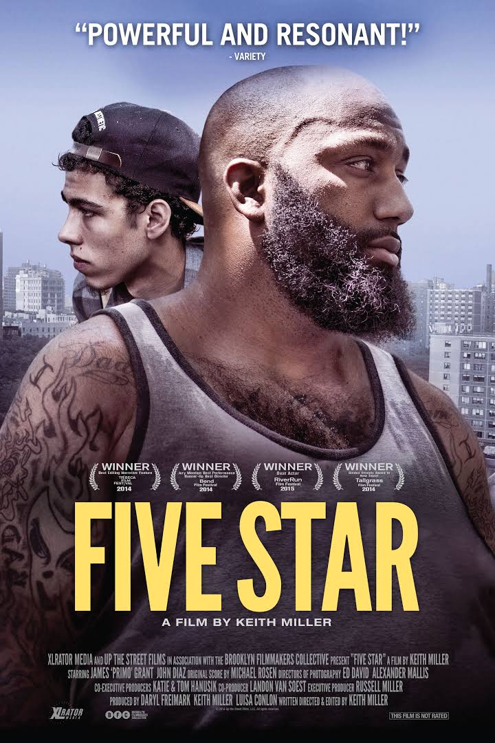 September 3, 2016 - Film screening & talk: Five Star takes an intimate look inside the relationship of two Brooklyn men and their ties to the Bloods street gang. Five Star's director, Keith Miller, led a post-screening Q&A.© Keith Miller