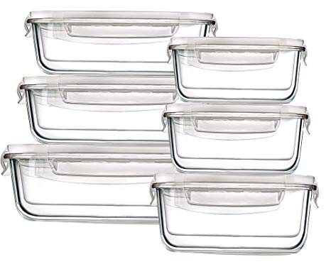 Bayco Large Glass Storage - For the larger food leftovers.
