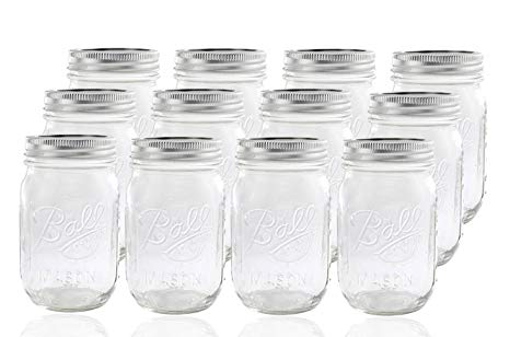 16 oz Ball Mason Jars - I love Ball mason jars. They are great for smaller item storage and can be used for so many different things. We use them as cups for the kids with silicone top covers and as drinking glasses for ourselves. I especially love them for wine! Because they are such a staple to everyone, you can buy so many useful accessories for them like lids with straw holes and silicone sleeves to prevent breaking.