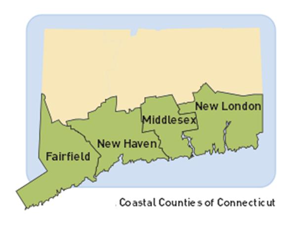 coastal counties