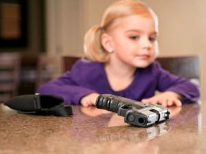 child, gun