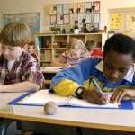 kids at school-