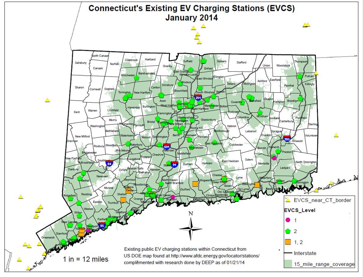 charging map