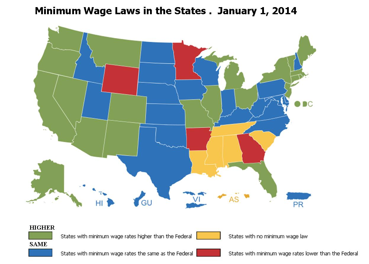 state wage rates