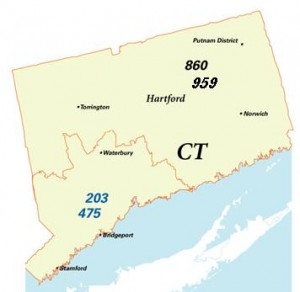 area code map
