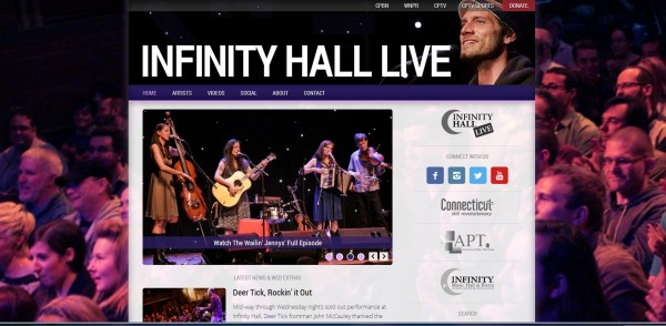infinity hall website