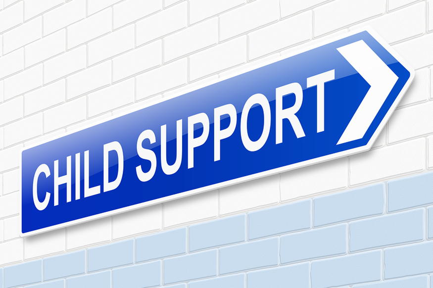 child support wall