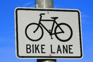 city_biking_sign