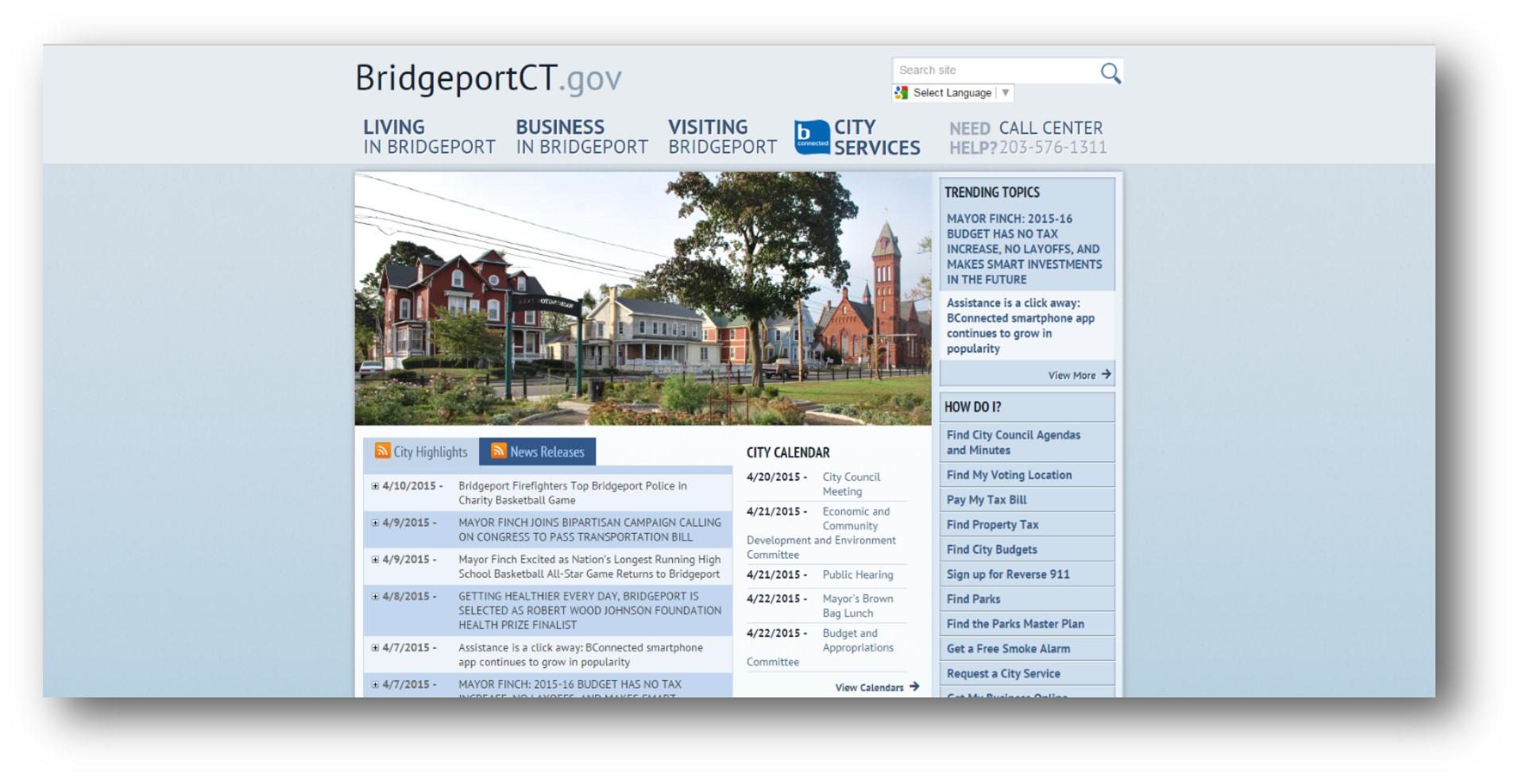 bridgeport gov