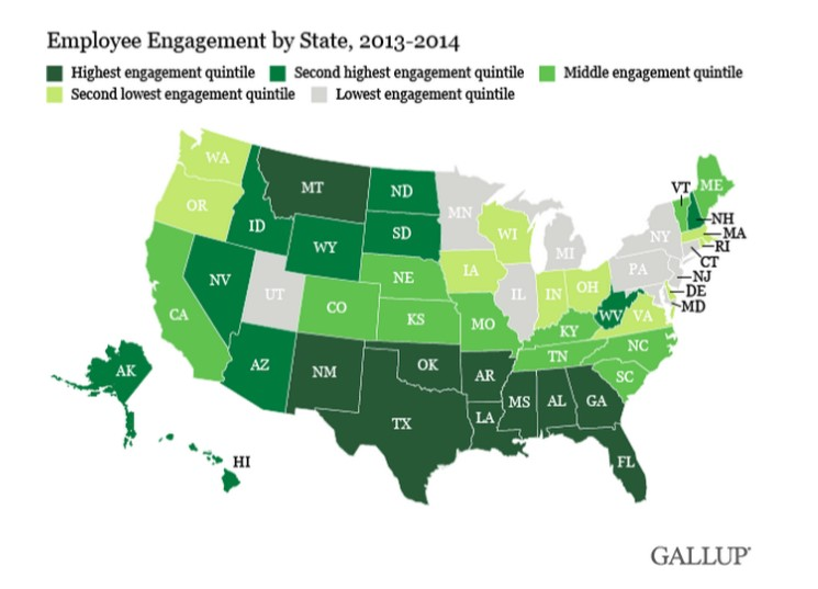 disengagement map