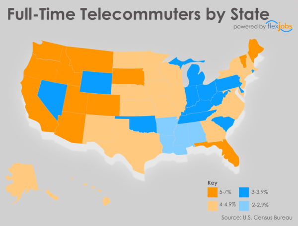 Full-Time-Telecommuters-by-State-by-FlexJobs-2015